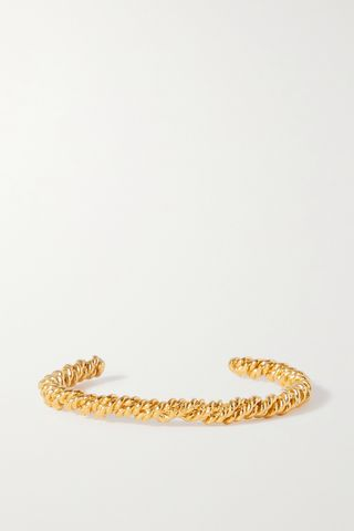 The Celestial Orbit gold-plated cuff
